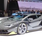 В Женевском car show была представлена эксклюзивная модель Lamborghini Centenario.